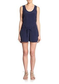 Joie Essonne Silk Short Jumpsuit