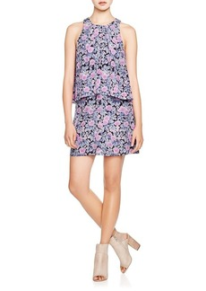 Joie Everla Digitized Floral Print Dress