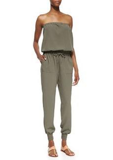 Joie Farley Strapless Jersey Jumpsuit