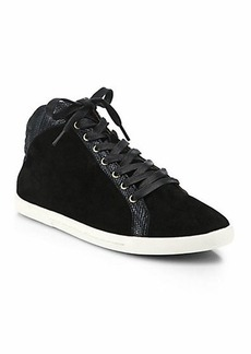 Joie Felton Suede High-Top Sneakers
