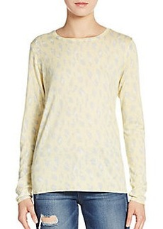 Joie Feronia Animal-Print Sweater