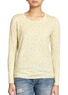 Joie Feronia Animal-Print Sweater
