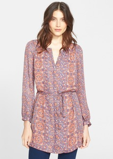 Joie 'Fianna' Print Silk Tunic Dress