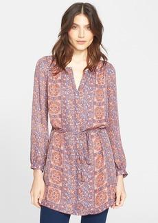 Joie 'Fianna' Print Silk Tunic Dress
