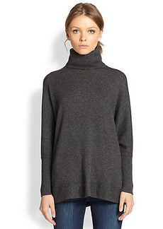 Joie Fidelle Wool/Cashmere Trapeze Turtleneck Sweater