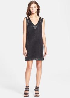 Joie 'Francoise' Embellished Silk Shift Dress