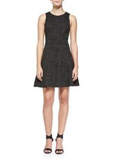 Joie Glynnis Sleeveless Leopard-Print Dress