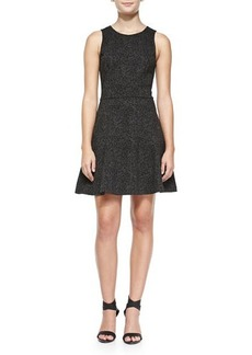 Joie Glynnis Sleeveless Leopard-Print Dress