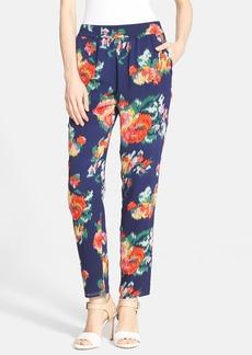 Joie 'Helda' Print Silk Pants