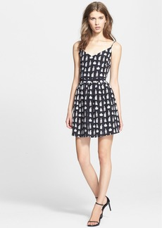 Joie 'Hudette' Print Silk Fit & Flare Dress
