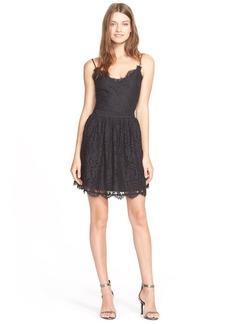 Joie 'HudetteB' Lace Fit & Flare Dress