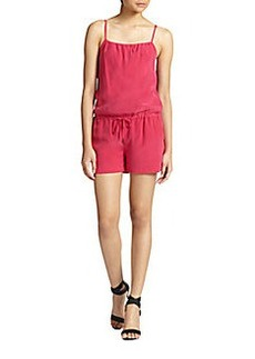 Joie Ilona Short Silk Jumpsuit