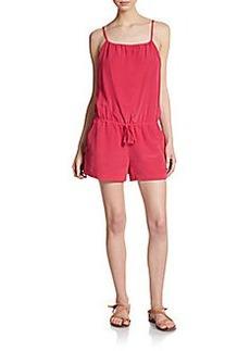 Joie Ilona Silk Short Jumpsuit