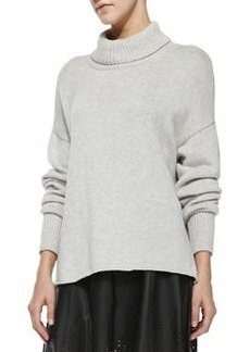 Joie Irissa Rib-Trim Turtleneck Sweater