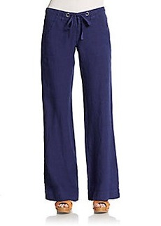 Joie Irreplaceable Wide-Leg Linen Pants