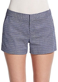 Joie Isabeau Check-Print Shorts