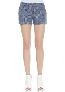 Joie Isabeau Printed Pique Shorts