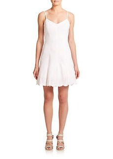 Joie Iseult Cutout Eyelet Dress