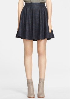 Joie 'Ivanna' Plaid Flare Skirt