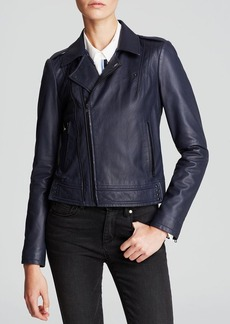 Joie Jacket - Caldine Leather Moto