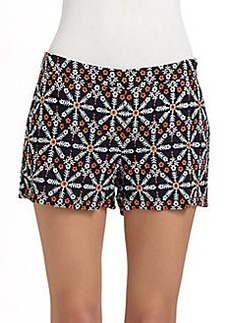 Joie Jacobella Embroidered Shorts