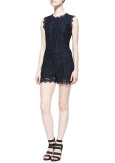 Joie Jardeene Short Lace Jumpsuit