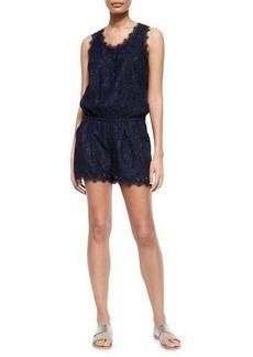 Joie Jardeene Short Lace Jumpsuit