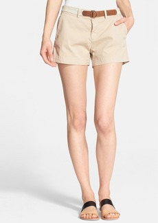 Joie 'Jardin' Belted Chino Shorts