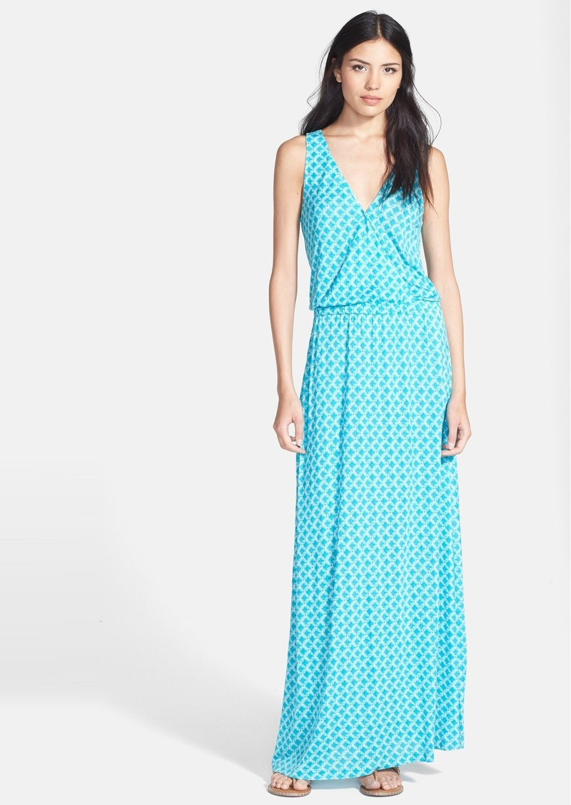Joie 'Jaylen' Stretch Faux Wrap Maxi Dress