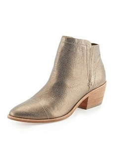 Joie Jodi Metallic Leather Ankle Boot