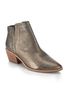 Joie Jodi Metallic Leather Ankle Boots
