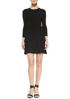Joie Jolia Wool/Cashmere Dress, Caviar