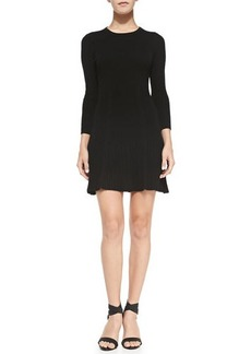 Joie Jolia Wool/Cashmere Dress, Caviar