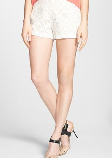 Joie 'Jorletta' Crochet Cotton Shorts