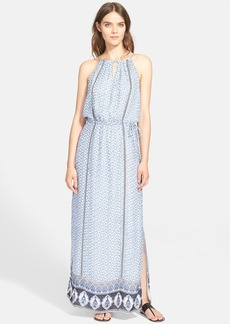 Joie 'Karatt' Mixed Print Silk Maxi Dress