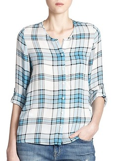 Joie Kariana Plaid Shirt