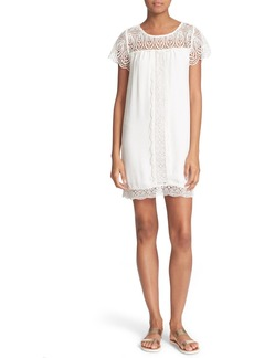 Joie 'Kastra' Lace Inset Dress