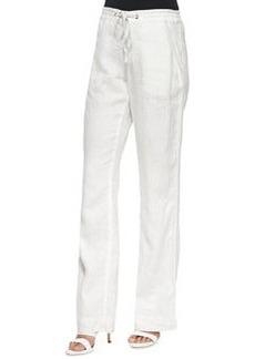 Joie Katriane Wide-Leg Linen Pants