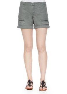 Joie Keli Cotton Poplin Shorts
