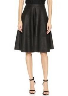 Joie Kendrine Leather Skirt