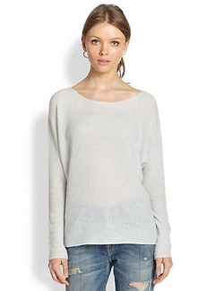 Joie Kerenza Slouched Ribbed Cashmere Sweater