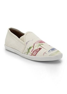 Joie Kidmore Tropical-Print Sneakers