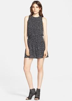 Joie 'Kieran' Print Silk Blouson Dress