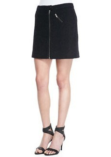 Joie Kristina Textured Zipper Skirt