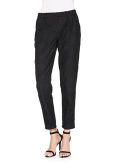 Joie Lacinda Pleated Lace Pants