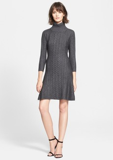 Joie 'Lairda' Cable Knit Wool & Cashmere Sweater Dress