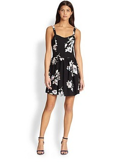 Joie Latelle Printed Silk Dress