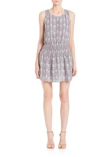 Joie Lawska Python Print Dress