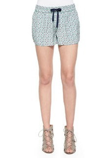 Joie Layana B Printed Drawstring Shorts