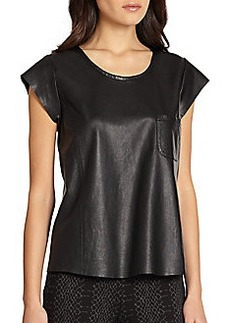 Joie Leather Rancher Tee